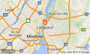 Mapa Montreal Apartamentos 96620