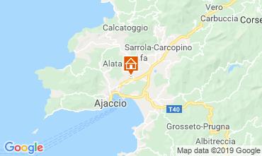 Mapa Ajaccio Apartamentos 108065