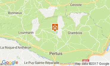 Mapa Lourmarin Vivenda 108812