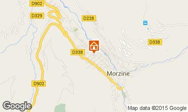 Mapa Morzine Apartamentos 28154