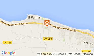 Mapa Dénia Vivenda 103619