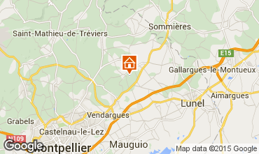 Mapa Montpellier Vivenda 80910
