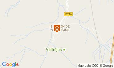 Mapa Valfréjus Estúdio 107072