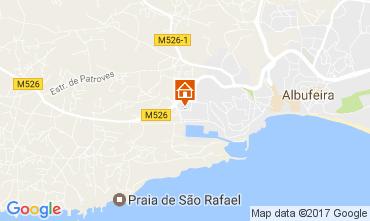 Mapa Albufeira Apartamentos 109950