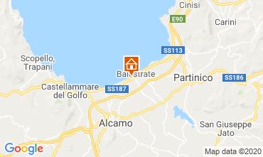 Mapa Balestrate Apartamentos 64643