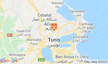 Mapa Tunis Apartamentos 80246