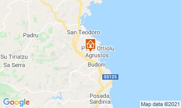 Mapa Budoni Apartamentos 53236