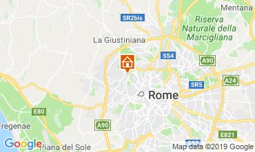 Mapa Roma Apartamentos 98711