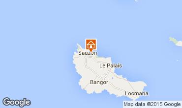 Mapa Sauzon Casa 14955