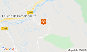 Mapa Barcelonnette Chal� 2797