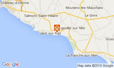 Mapa Jard sur mer Vivenda 105375