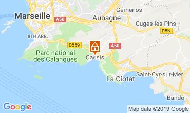Mapa Cassis Apartamentos 119352