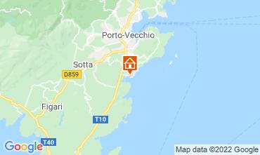 Mapa Porto Vecchio Vivenda 40852