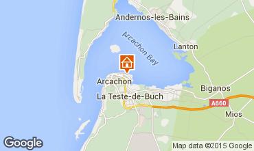 Mapa Arcachon Apartamentos 21709