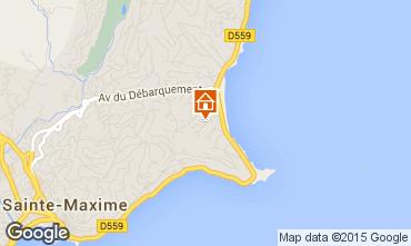 Mapa Sainte Maxime Casa 8531