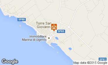 Mapa Ugento - Torre San Giovanni Apartamentos 94615