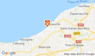 Mapa Deauville Apartamentos 116596