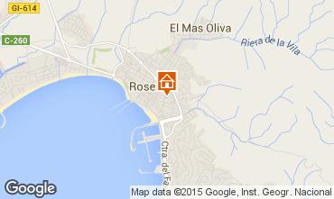 Mapa Rosas Apartamentos 86249
