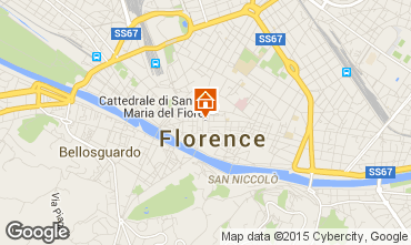 Mapa Floren�a Apartamentos 81271