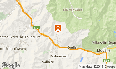 Mapa Saint Jean de Maurienne Casa de turismo rural/Casa de campo 68664
