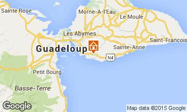 Mapa Gosier (Guadeloupe) Bungalow 8003