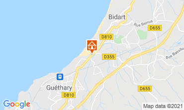 Mapa Bidart Apartamentos 101051