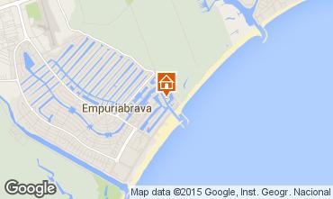 Mapa Empuriabrava Apartamentos 76504
