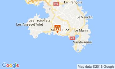 Mapa Sainte Luce Bungalow 114766