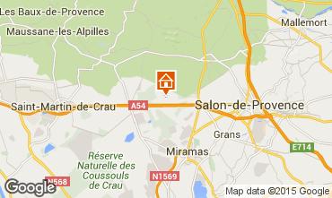 Mapa Salon de Provence Casa de turismo rural/Casa de campo 77630