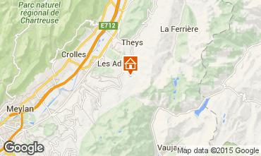 Mapa Les Sept Laux Apartamentos 96933