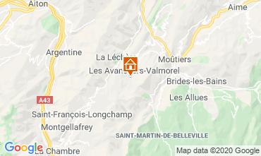Mapa Valmorel Apartamentos 49915