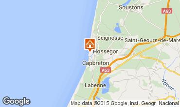 Mapa Hossegor Apartamentos 6468