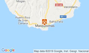 Mapa Maspalomas Apartamentos 104988
