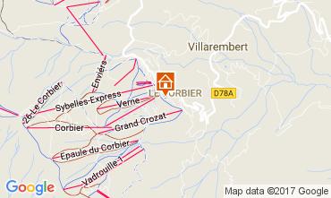 Mapa Le Corbier Estúdio 107286