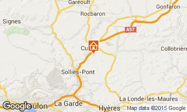 Mapa Hyères Vivenda 45657