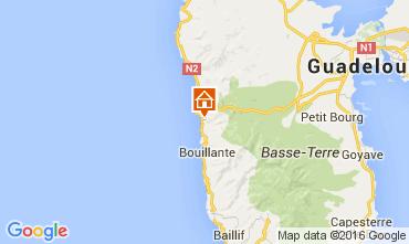 Mapa Bouillante Casa de turismo rural/Casa de campo 103675