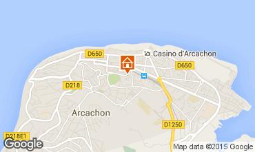 Mapa Arcachon Apartamentos 60086