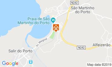 Mapa São Martinho do Porto Apartamentos 120014