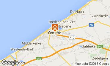 Mapa Ostende Apartamentos 75999