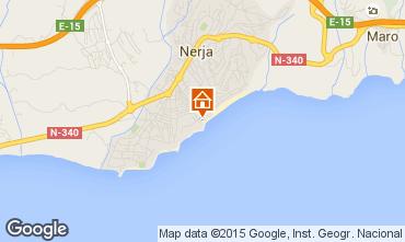Mapa Nerja Apartamentos 89687