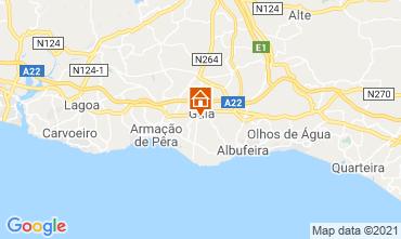 Mapa Albufeira Casa 83571