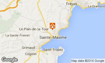 Mapa Sainte Maxime Vivenda 103264