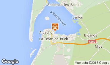 Mapa Arcachon Apartamentos 81764