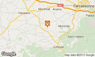 Mapa Carcassonne Casa de turismo rural/Casa de campo 13005
