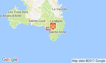 Mapa Sainte Anne (Martinique) Estúdio 61497