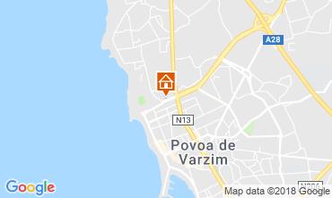 Mapa Póvoa de Varzim Apartamentos 76427