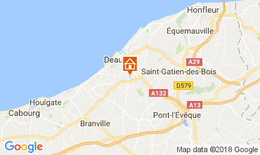 Mapa Deauville Mobil Home 7634