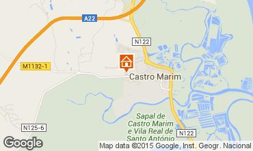 Mapa Castro Marim Apartamentos 87215