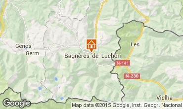 Mapa Luchon Superbagneres Casa 92277