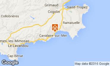 Mapa Cavalaire-sur-Mer Apartamentos 102533